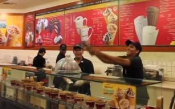 Έτσι σερβίρουν παγωτό στο Ντουμπάι [video]