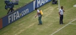 Mundial 2014: Βάφουν πράσινο το γρασίδι στο Μανάους!
