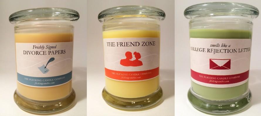 Τα περίεργα κεριά που μυρίζουν όπως οι χειρότερες στιγμές της ζωης σου
