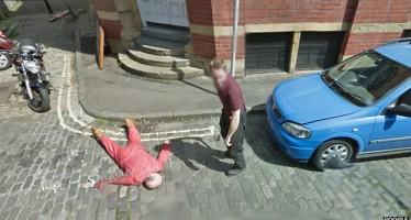 """Καταγράφηκε """"φόνος"""" στο Google Street View!"""