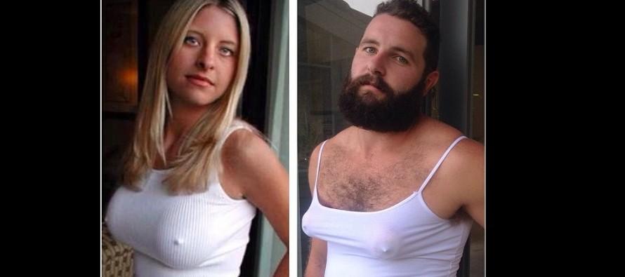 Ένας 25χρονος αναπαριστά φωτογραφίες γυναικών από τα social media…