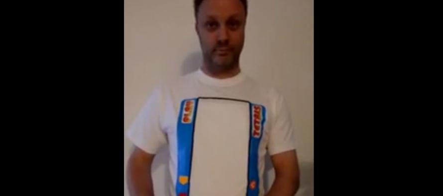 Αυτή είναι η απόλυτη μπλούζα του Gamer! (βίντεο)