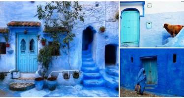 Μια βόλτα στο μπλε χωριό του Μαρόκο (εικόνες)