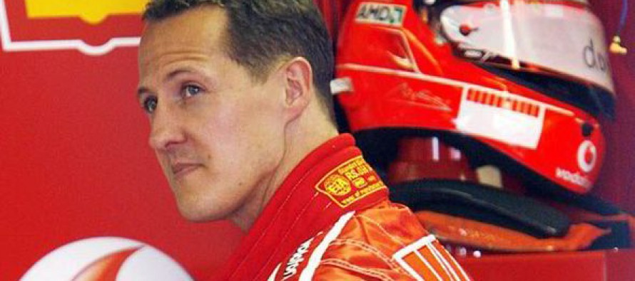 Michael Schumacher με microchip?