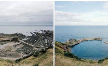 10 Εικόνες πριν και μετά την παλίρροια στη Βρετανία!