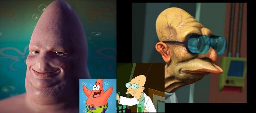 Πόσο περίεργοι θα ήταν οι χαρακτήρες καρτούν στην πραγματικότητα (Pic)