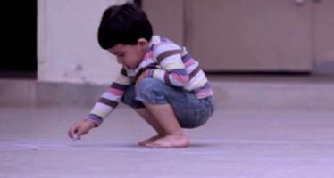 Συγκινητικό Βίντεο: Δες τι ζωγράφισε o πιτσιρίκος…