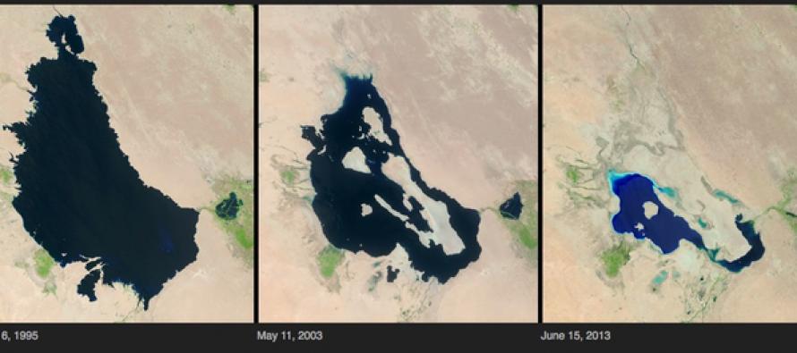 Η κλιματική αλλαγή στον πλανήτη μέσα από εικόνες της NASA
