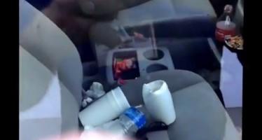 Ένας καλός λόγος για να μην αφήνεις σκουπίδια στο αμάξι σου