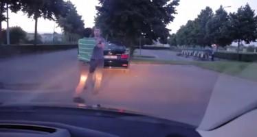 Έτσι τσακώνονται οι οδηγοί στο Βέλγιο (βίντεο)