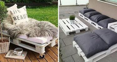 DIY: Φτιάξε μόνος σου έπιπλα για το δωμάτιο ή την αυλή!