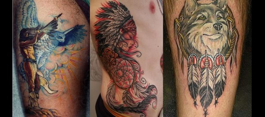 Εντυπωσιακά σχέδια και ιδέες για Ινδιάνικα Tattoo!