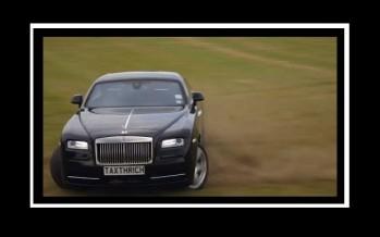 "VIDEO: Μια Rolls Royce ""θερίζει"" το γκαζόν!"