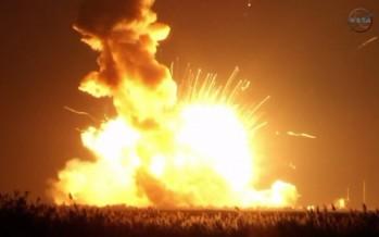 Εξερράγη πύραυλος της NASA μετά την απογείωση!