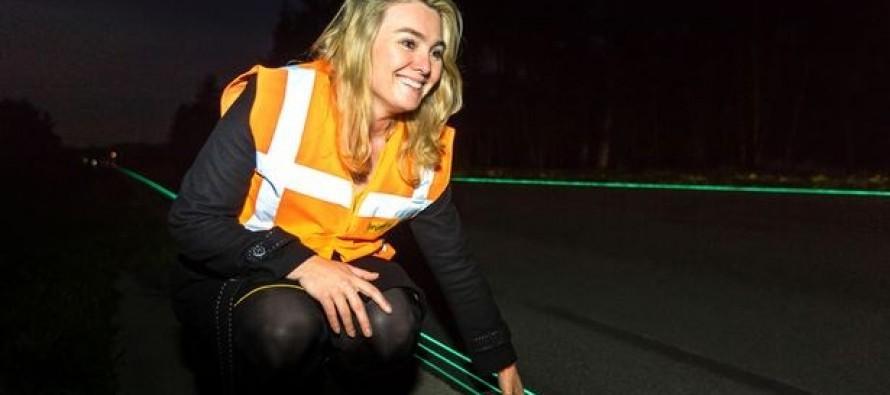 """Ολλανδία: Ανοίγει ο πρώτος """"φωτεινός"""" αυτοκινητόδρομος!"""