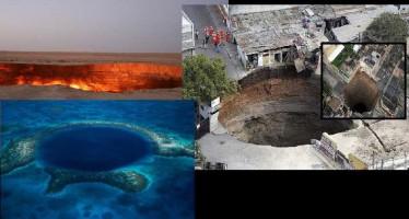 10 Απίστευτες Τρύπες της γης!