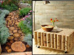 15 Ξύλινες κατασκευές για τη διακόσμηση του σπιτιού!