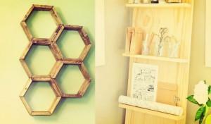DIY: 15 Εξαιρετικές ιδέες για να φτιάξεις ράφια μόνος σου!