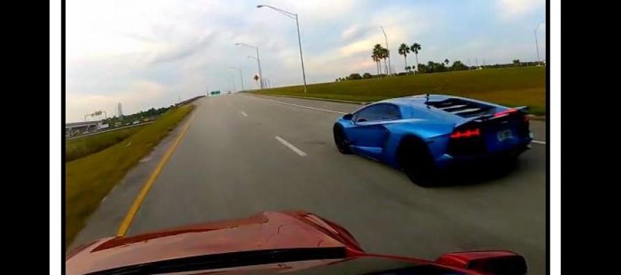 Video: Tesla S Vs Lamborghini Aventador!