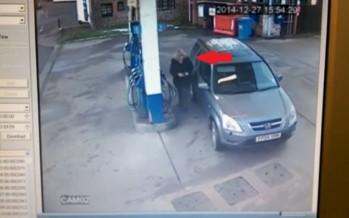 Video: Πως βάζει βενζίνη μια ξανθιά!