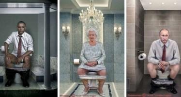 8 Μεγάλοι ηγέτες την ώρα που ενεργούνται στην τουαλέτα!