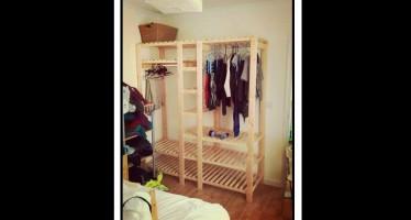 Ξύλινες κατασκευές: Πως να φτιάξεις μόνος σου ντουλάπα!
