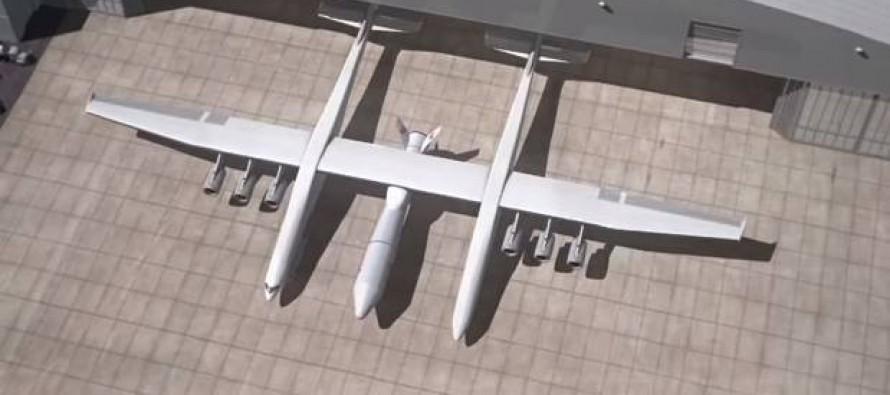 Ξεκίνησε η κατασκευή του μεγαλύτερου αεροσκάφους (φώτο)