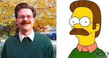 13 Άτομα που μοιάζουν με χαρακτήρες από τους Simpsons!