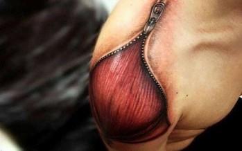 Τα 17 εντυπωσιακότερα 3D τατουάζ!
