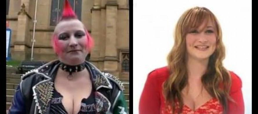 Απίστευτη μεταμόρφωση γυναίκας μέσα σε 10 λεπτά (video)