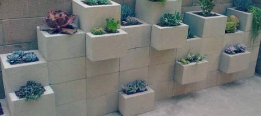 10 DIY κατασκευές με τσιμεντόλιθους!