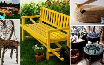 18 Εύκολα DIY έπιπλα κήπου που θα σε εντυπωσιάσουν!