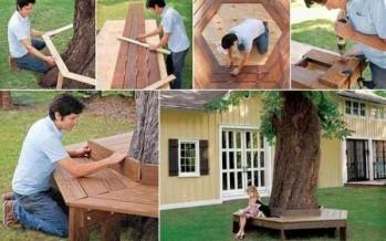 19 DIY παγκάκια για τον κήπο!