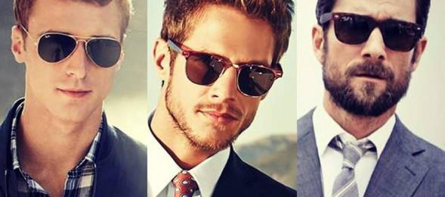 Ποια αντρικά γυαλιά ηλίου ταιριάζουν στο πρόσωπο σου!