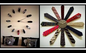 20 Ασυνήθιστα και εντυπωσιακά DIY ρολόγια τοίχου!