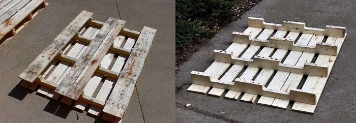 Φτιάξε μόνος σου παπουτσοθήκη από παλέτες με 5 βήματα