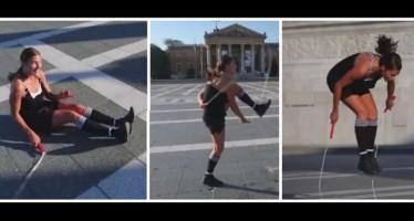 Αυτή η κοπέλα έχει ένα «περίεργο» ταλέντο!