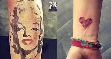 Cross Stitch: Η νέα μόδα στα τατουάζ!