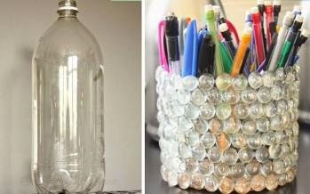 Φτιάξε μόνος σου μια μολυβοθήκη από πλαστικό μπουκάλι!