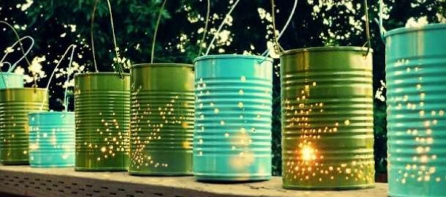 7 DIY φωτιστικά για τον κήπο σου!