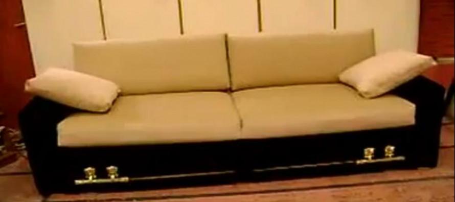 """Δεν μπορείτε να φανταστείτε τι """"γίνεται"""" αυτός ο καναπές!"""