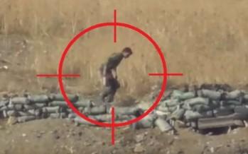 Αρμένιος ελεύθερος σκοπευτής τραβάει βίντεο όταν σκοτώνει!