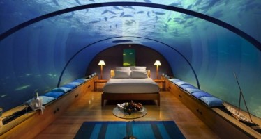 10 Πολυτελή ξενοδοχεία κάτω από το νερό!