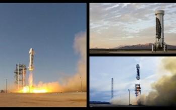 Η Amazon πραγματοποίησε την 1η κάθετη προσγείωση πυραύλου!