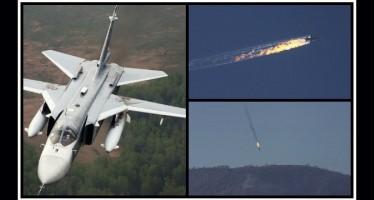 Η Τουρκία κατέρριψε ρωσικό μαχητικό αεροσκάφος!
