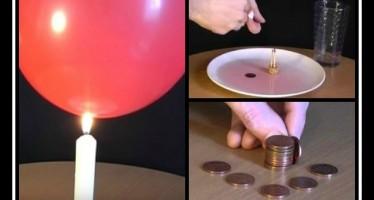 10 Επιστημονικά tricks που μπορείς να δοκιμάσεις στο σπίτι!