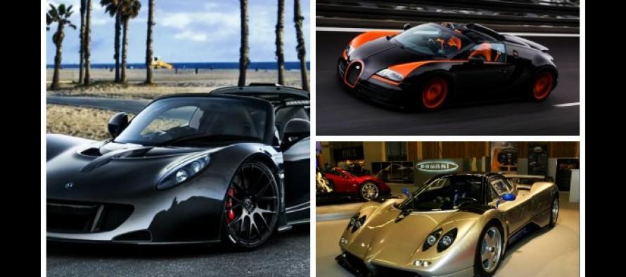 Τα 10 γρηγορότερα αυτοκίνητα των τελευταίων 20 ετών!