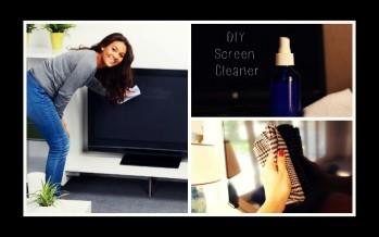 Φτιάξε καθαριστικό για την οθόνη των ηλεκτρικών συσκευών!