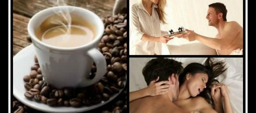 6 Λόγοι που όσοι πίνουν πολύ καφέ είναι καλύτεροι στο κρεβάτι!