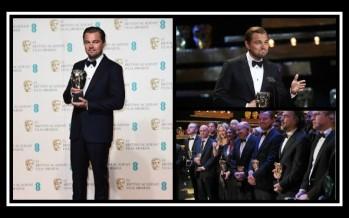 BAFTA 2016: Ο Λεονάρντο Ντι Κάπριο πήρε το βραβείο!